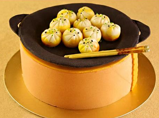 蛋糕样式创意搞怪手绘
