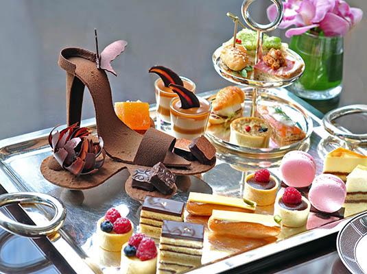 安达仕酒店推出全新的安达仕缤纷下午茶,精致情调中透着浓郁的法式图片