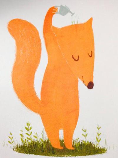 讲述了一个森林里的小狐狸爱上小兔子并为之改变的故事,治愈系的画面