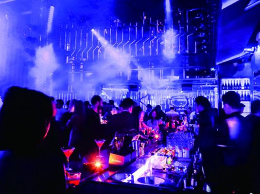 Bar buzz new nightclub from sino group fusion shanghai for 1234 dance floor