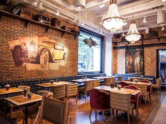 老上海复古风情咖啡酒吧 — citron