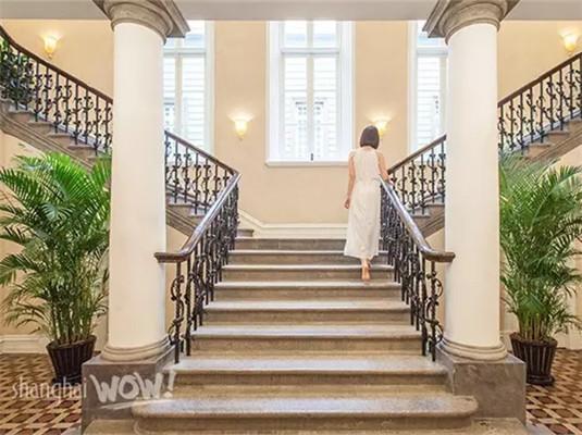 欧式建筑室外楼梯