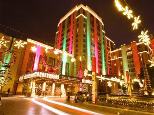 每一年的半岛圣诞季都是我特别期待的一件事~因为每一年,半岛在酒店