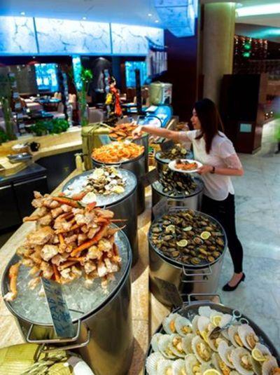 上海虹桥元一希尔顿酒店 饕餮海鲜自助晚餐全线升级