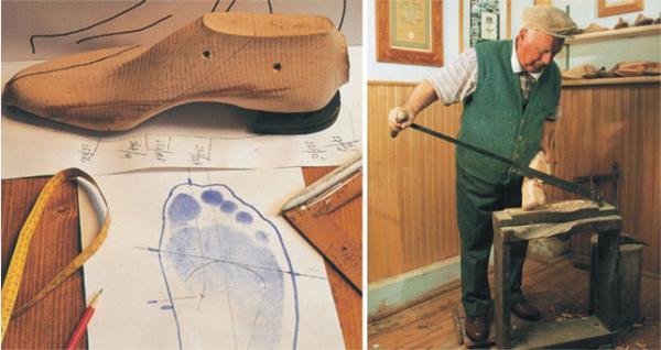所以说手工皮鞋的制作过程步步相扣!