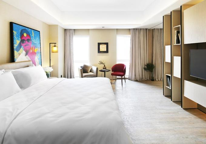 浪漫七夕 可以看风景的酒店浴缸