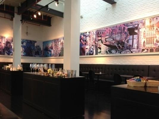 上海玻璃博物馆内的murano@shmog餐厅有艺术气息是