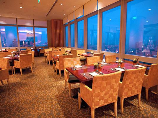 上海明天广场jw万豪酒店万豪咖啡厅全新海鲜自助盛宴