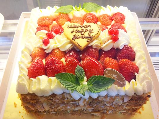 方型大蛋糕图片可爱