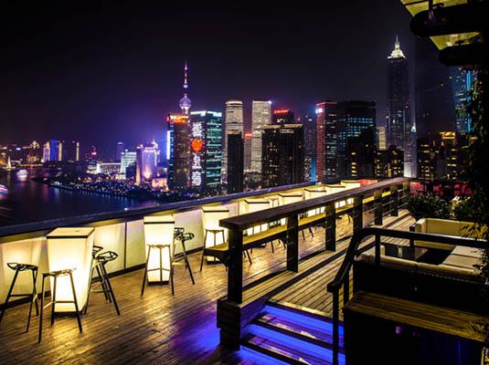 上海酒店夜景图片