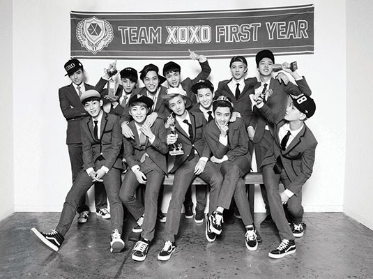 2014 EXO From. Exoplanet 1 The Lost Planet中国巡回演唱会 上海站