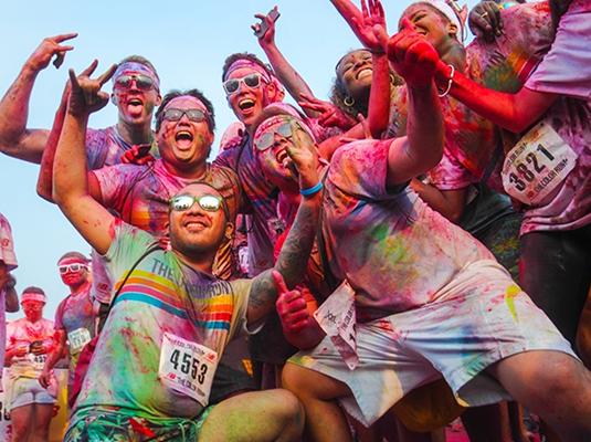 跑出点颜色瞧瞧 — The Color Run五公里彩色奔跑