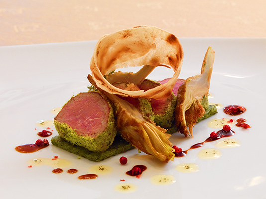 Haute cuisine with 3 michelin chefs hats off 2014 - French haute cuisine dishes ...